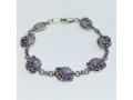 Браслет Виноградная гроздь серебряный православный 59312