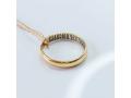 Кольцо венчальное узкое арт 4076