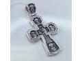 """Крест  """"Целители"""" серебряный"""