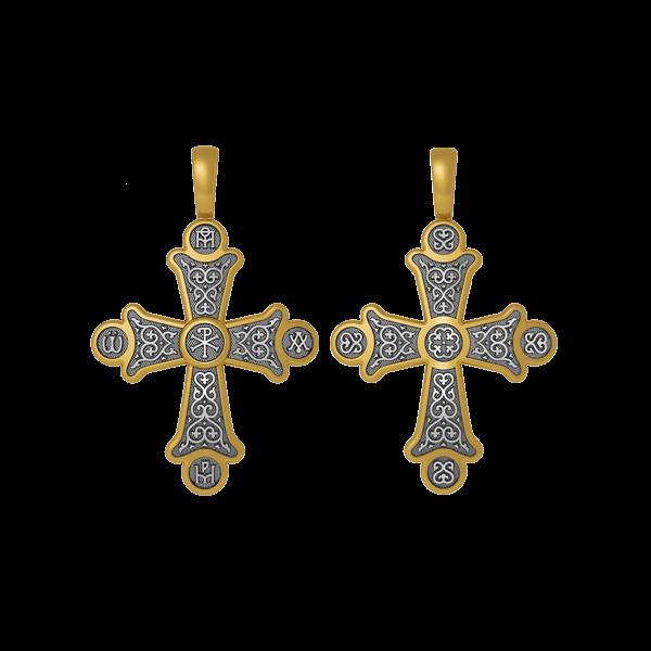 Крест «Хризма. Монограммы Евангелистов»