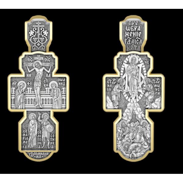 Крест православный «Преображение Господне»