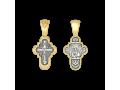 Крест православный «Распятие. Владимирская икона Божией Матери»