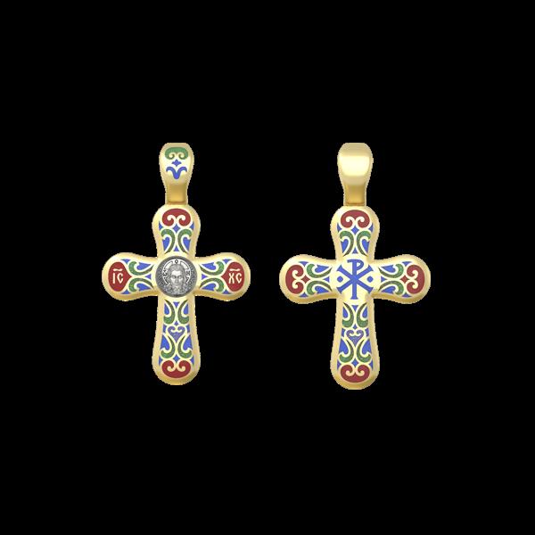 Крест православный Спас Нерукотворный. Хризма