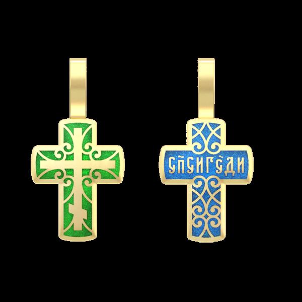 Крест православный «Спаси Господи»
