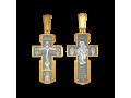 Крест  «Распятие. Целители. Икона Божией Матери «Всецарица»