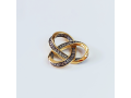 Женский кулон Тринити  арт 18.050 позолоченный кулон