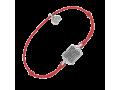 Браслет на красной нитке молитва о здоровьи детей 50025  тонкий