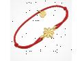 Браслет на красной нитке вифлиемская звезда 50002 тонкий