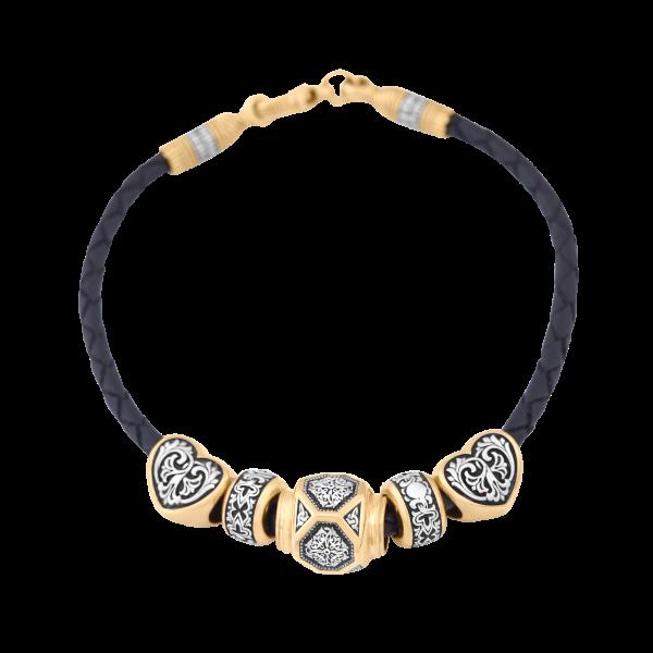 Православный браслет с бусинами