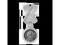 Бусина Андреевский крест и Апостол Андрей Первозванный