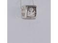 Серебряная бусина Деисус Ш04