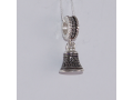 Серебряная бусина-подвеска колокольчик Благовест Ш02