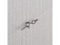 Леска-невидимка на серебряной застежке