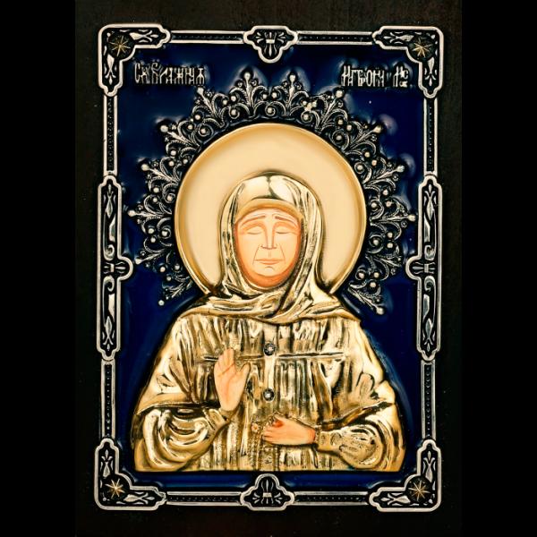 Икона. Матрона Московская.