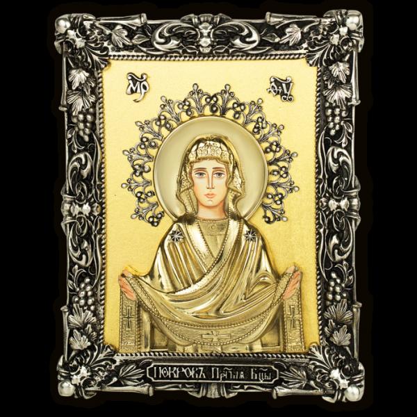 Икона. Покров Пресвятой Богородицы.