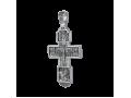 Распятие Христово с предстоящими. Святая Троица. Архангел Михаил. Св. Воины. Тихвинская икона Божией Матери. Православный крест.