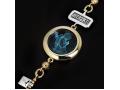 Браслет Ангел Архангел Гавриил бриллианты, голубой кварц (арт.617.09.08-22.28)