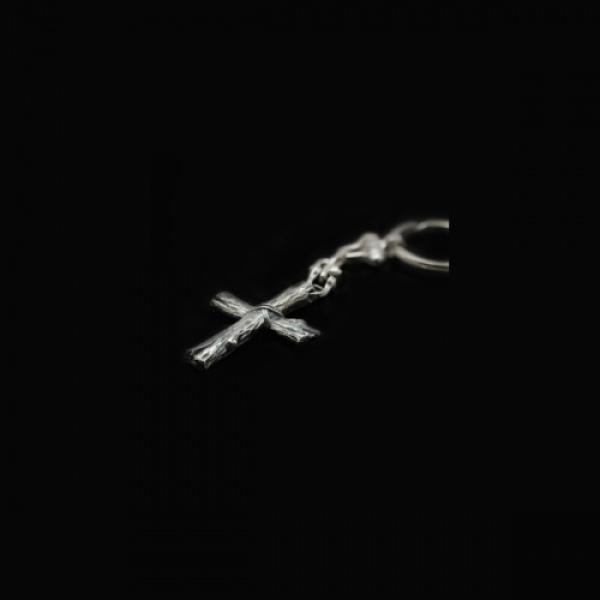 Брелок Деревянный крест (арт.470.04)