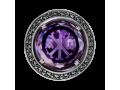 Кольцо православное Молитва аметист (арт.608.04.20.68)