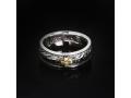 Кольцо православное Морская волна бриллиант (арт.616.05.08)