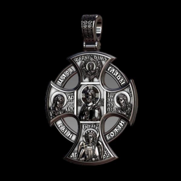 Крест нательныйНовгородский (арт.805.04)