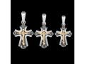Крест нательный Преподобный Сергий Радонежский (арт.681.05.00.43)