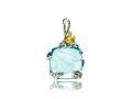 Подвеска Ангел у озера голубой кварц (арт.722.05.22)