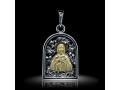 Подвеска Нательная икона Святая Преподобная Мария Египетская бриллиант (арт.626.05.08.45)