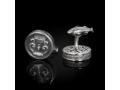 Запонки православныеЧаша пристрастия бриллианты (арт.701.04.08.54)