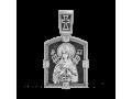 Икона Божией Матери Семистрельная и Николай Чудотворец серебро артикул 18695