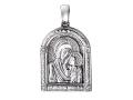 Казанская икона Божией Матери нательный образок (арт. 01П150484)