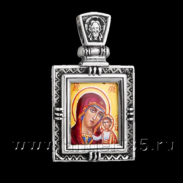 Нательная икона Казанской Божией Матери артикул 9