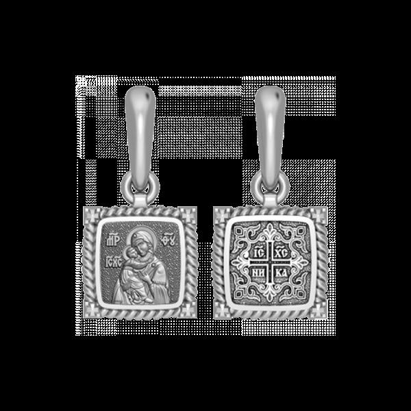 Владимирская икона Божией Матери. Подвеска 03.108s