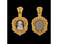 Владимирская икона Божией Матери нательный образок артикул 8528