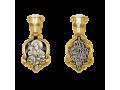 Икона Божьей Матери Троеручица нательный образок артикул 8536