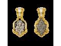 Икона Божией Матери Споручница грешных нательный образок артикул 8537