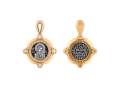 Казанская икона Божией Матери нательный образок артикул  8615