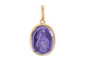 Владимирская икона Божией Матери образок (арт. 01П213439-1)