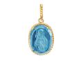 Владимирская икона Божией Матери образок (арт. 01П213439-2)