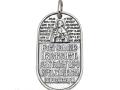 Жетон защитника св Александр Невский из серебра