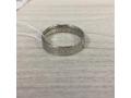 Кольцо с молитвой водителя серебряное родированное