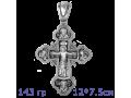 Распятие Христово, Александр Невский, Димитрий Донской, Сергий Радонежский Архангел Михаил Православный крест