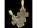 Православный нательный Голгофский крест КРСЗ 016
