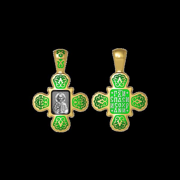 Крест православный «Господь Вседержитель. Господи спаси и сохрани»