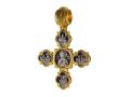 Господь Вседержитель Святая Троица, Василий Великий, Иоанн Златоуст и Григорий Богослов Николай Угодник Православный крест