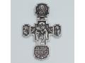 Крест православный «Сретение Господне» серебряный