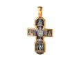 Распятие Христово с предстоящими Святая Троица Архангел Михаил Св Воины Тихвинская икона Божией Матери Православный крест