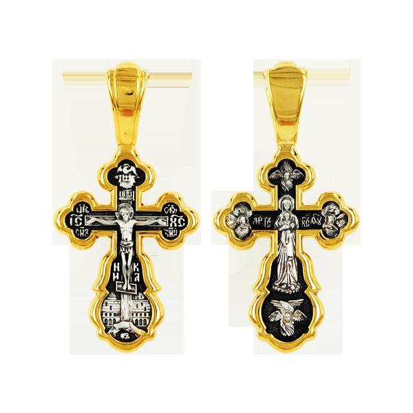 Распятие Христово Валаамская икона Божией Матери Православный крест