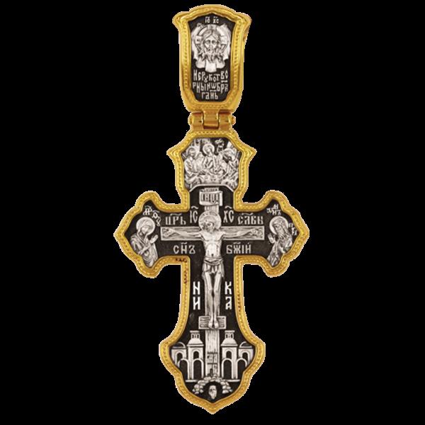 Распятие Христово Деисус Святая Троица Спас Нерукотворный Архангел Михаил Молитва Кресту Православный крест