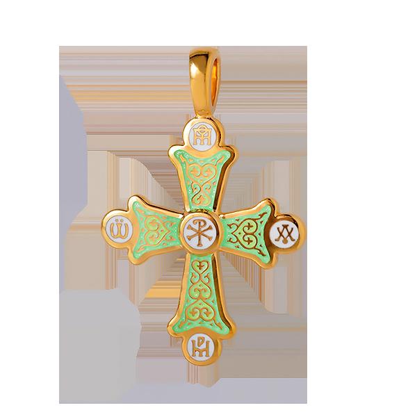 Крест православный «Хризма. Монограммы Евангелистов»